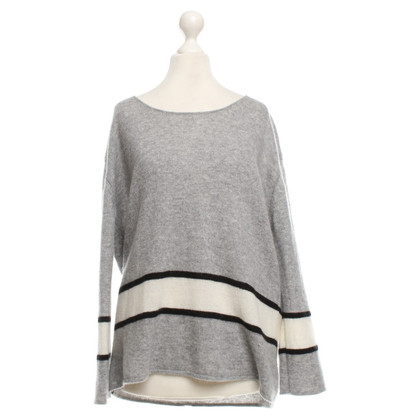 Dear Cashmere Sweater with striped pattern