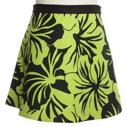 Michael Kors Mini skirt with a floral pattern