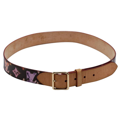 Louis Vuitton Belt made of Monogram Watercolor