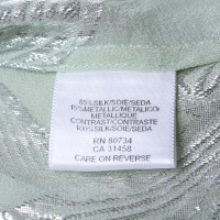 BCBG Max Azria Top en vert menthe / argent