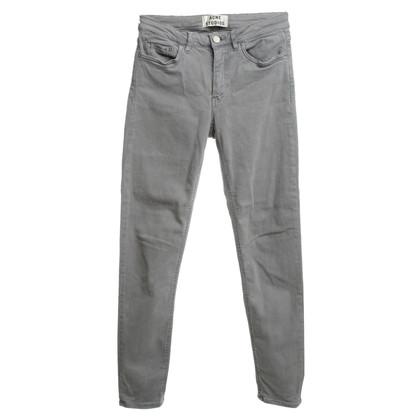 Acne Skinny jeans gris