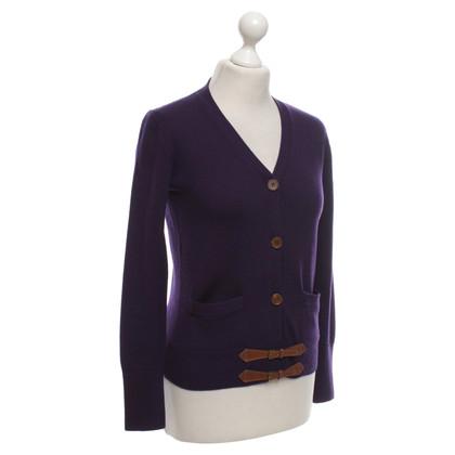 Ralph Lauren Cardigan in purple