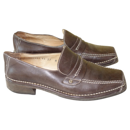 Aigner Leather slippers