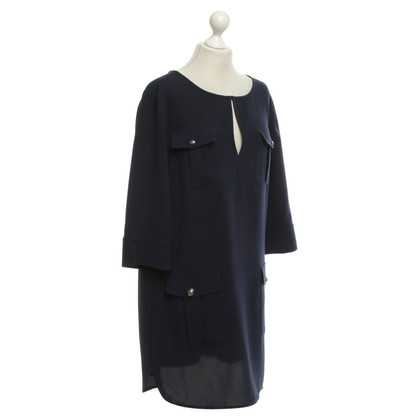 "Diane von Furstenberg Navy blue dress ""Agness"""