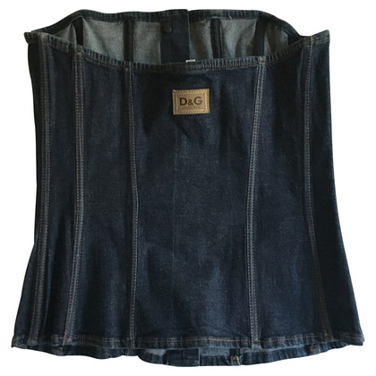 D&G Denim bodice