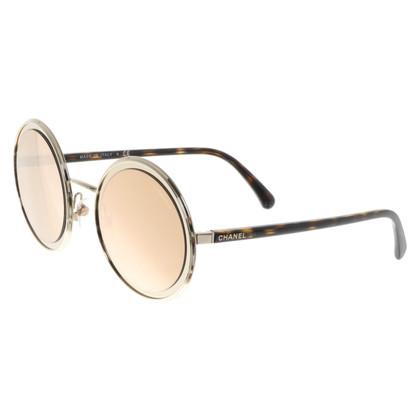 Chanel Golden sunglasses