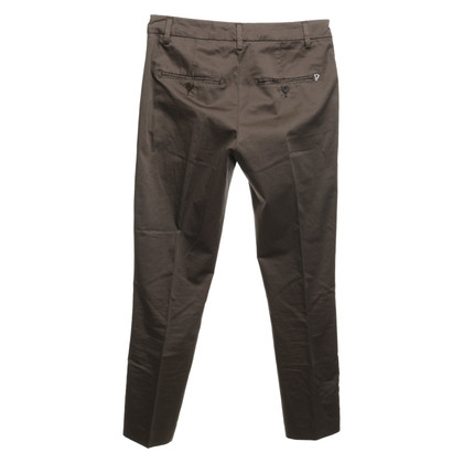 Dondup Creased trousers in olive green