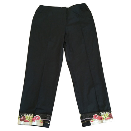 Blumarine Embroidered pants with Fund
