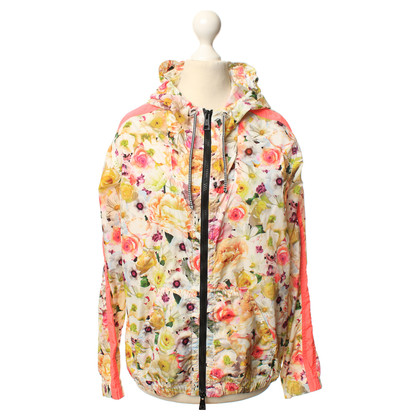 MSGM Jacket with a floral pattern