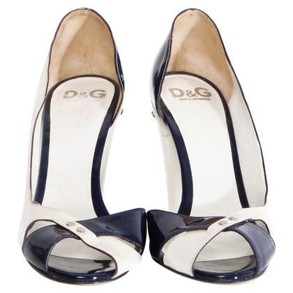 D&G peep toe