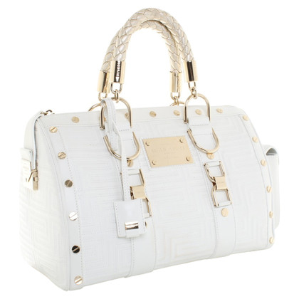 Gianni Versace Handbag in white