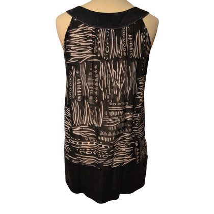 Marc Cain Top in black / brown / white