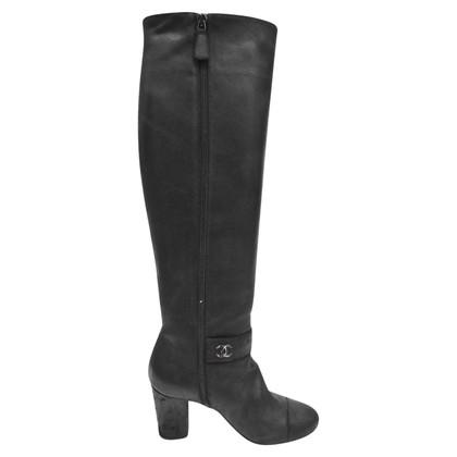 Chanel Boots Nubuck
