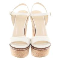 Jimmy Choo Sandals in cream