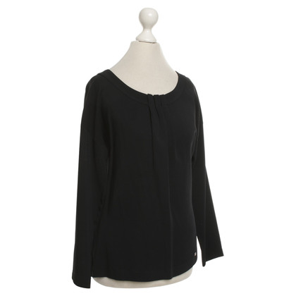Aigner Top in Blu / Nero