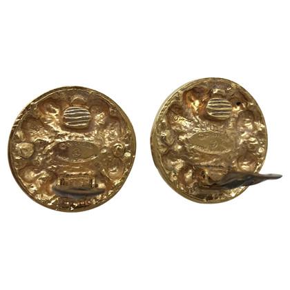 Chanel GREAT GOLDEN METAL EARRINGS