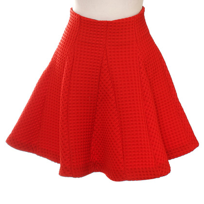 Maje skirt in red
