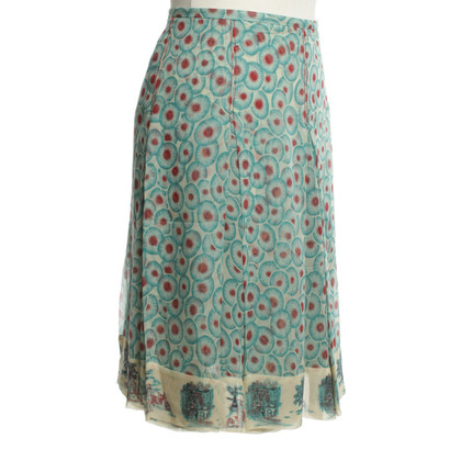 Hermès skirt made of silk