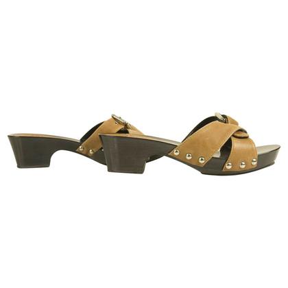 Dolce & Gabbana leren sandalen