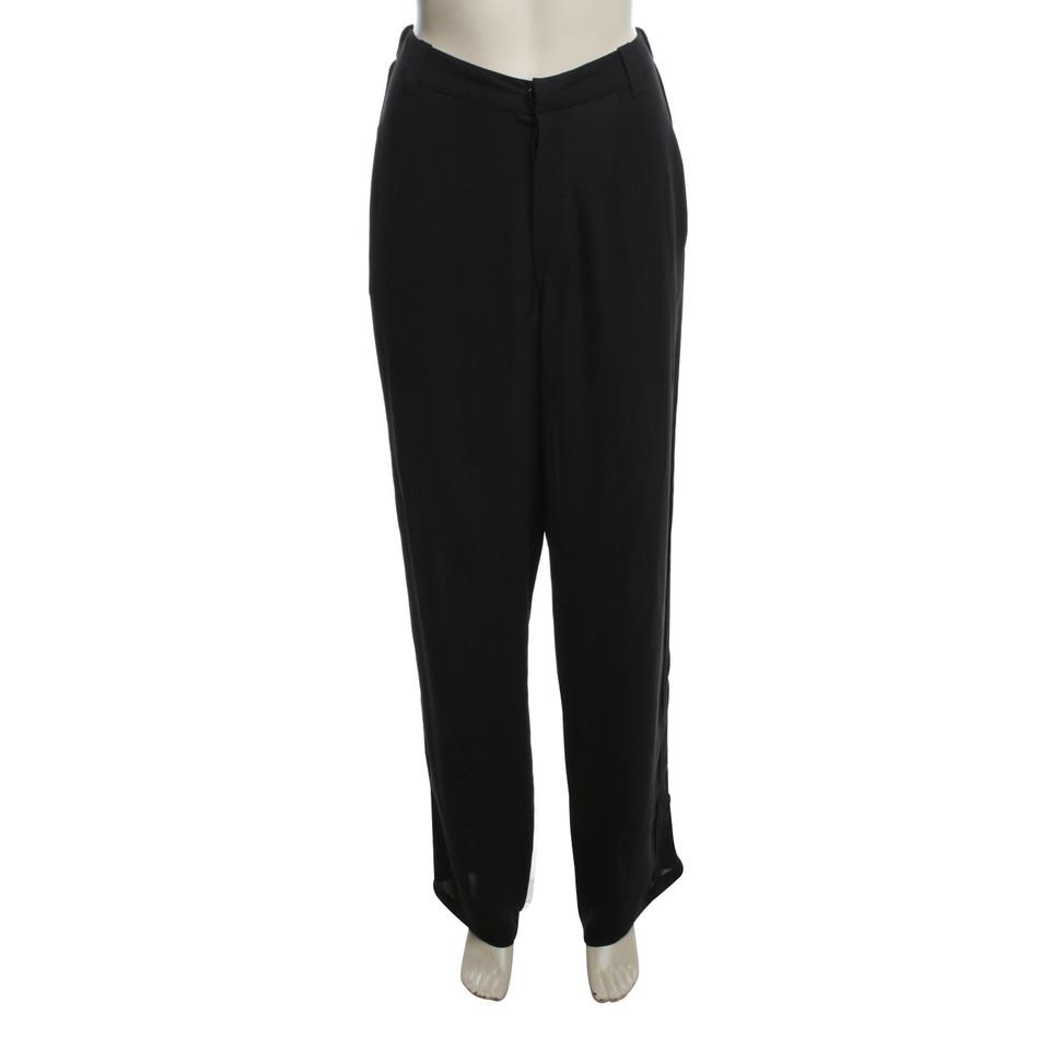 Balenciaga trousers in black
