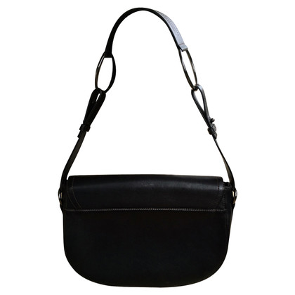 Lancel Saddle Bag with decorative buckle