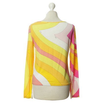 Emilio Pucci Colorful Jersey shirt
