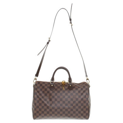 "Louis Vuitton ""Speedy 35 aus Damier Ebene Canvas"""