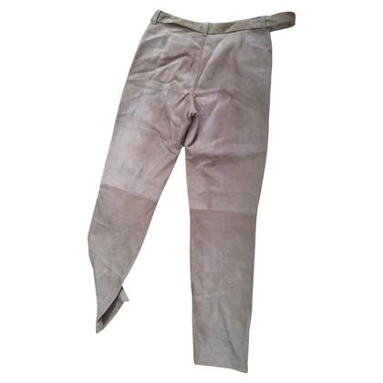 Miu Miu suede trousers