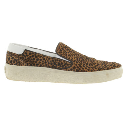 Saint Laurent Slipper con cavallino