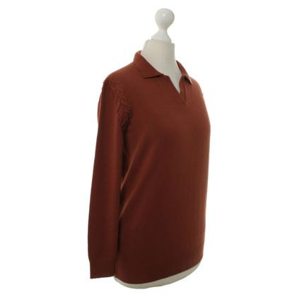 Bottega Veneta Cashmere sweater in rust