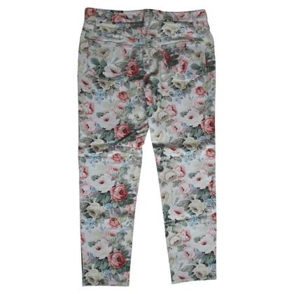 Miu Miu Jeans with a floral pattern