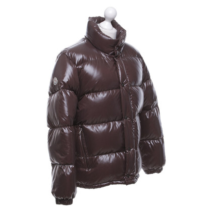 Moncler Down jacket in brown