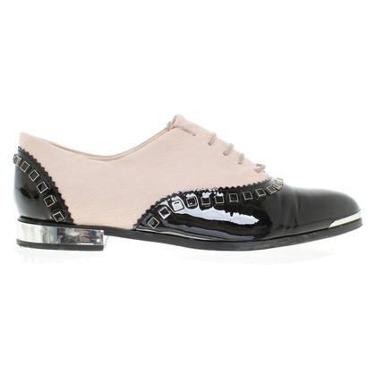 Michalsky Lace-up shoes with pony fur