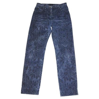 Armani Jeans Jeans mit Blumenmuster
