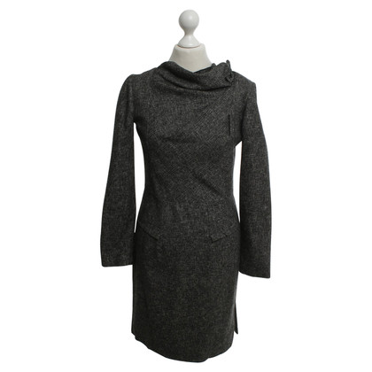 Roland Mouret Sheath dress in mottled dark gray