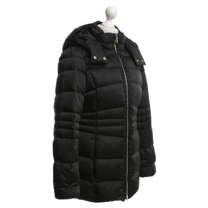 Hugo Boss Coat in zwart Beneden