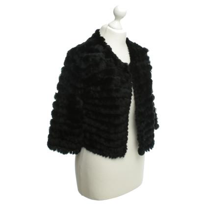 BCBG Max Azria Bont jas in zwart