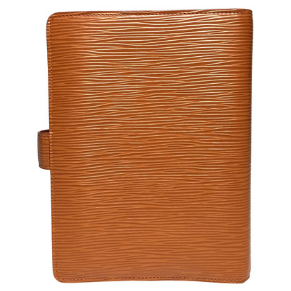 Louis Vuitton Agenda Fonctionell MM EPI Leather Brown