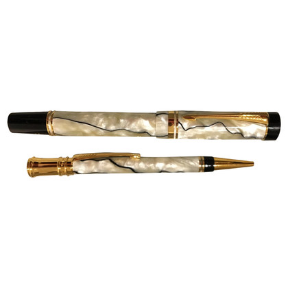 "Parker ""Duofold Set Black&Pearl 18k"""
