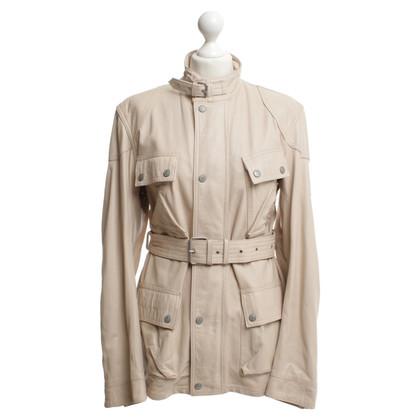 Belstaff Leather jacket in beige