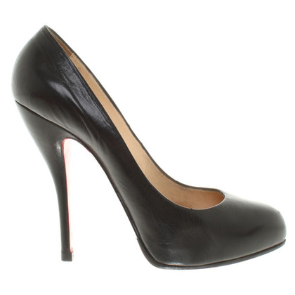 Christian Louboutin Stiletto's in zwart
