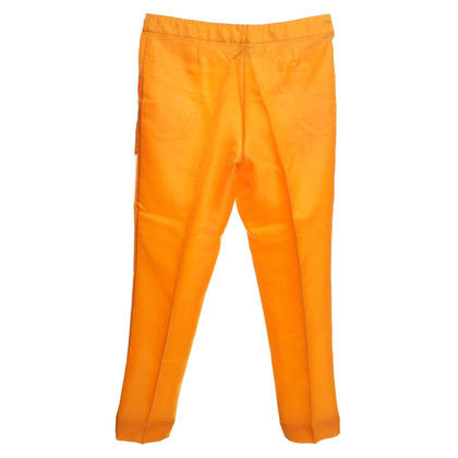 Moschino trousers in orange