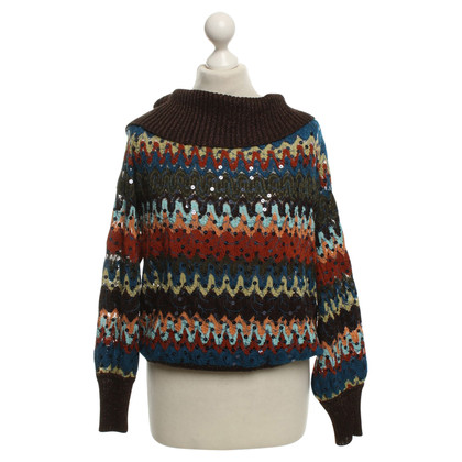 Missoni Colorful roll-neck sweater