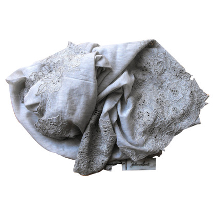 Faliero Sarti scarf with embroidery