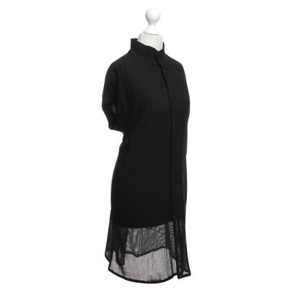 Issey Miyake blouse zwart