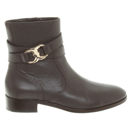 Tory Burch Flat leather ankle boots