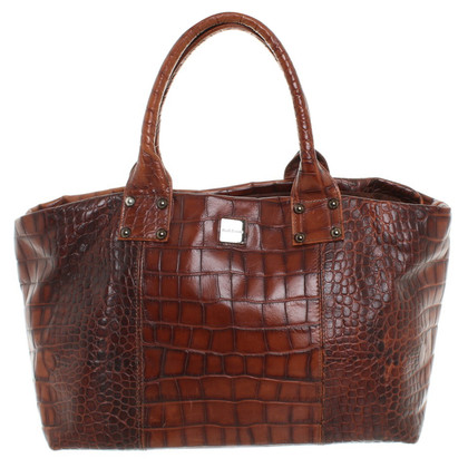 Baldinini Tasche in Reptilleder-Optik