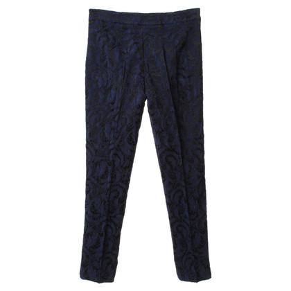 Piu & Piu Jacquard pants