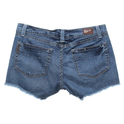 Paige Jeans Jeans-Shorts im Used-Look
