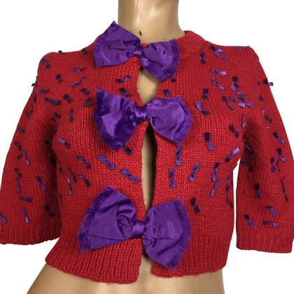 Marc Jacobs Cardigan rouge